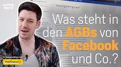 Was versteckt sich in den AGBs von Facebook und Co? | Einfach Digital | Folge 5