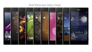 Personalise your Xperia device with Xperia Themes