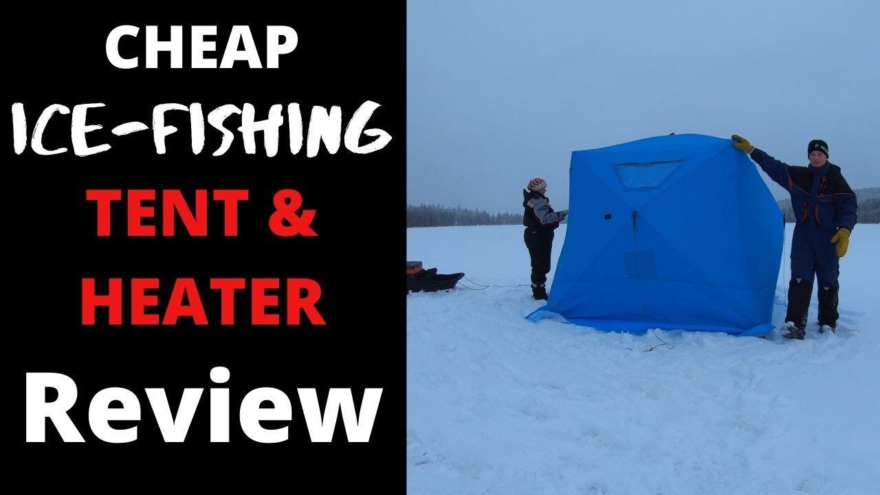 Yokstore Ice Fishing Tent Portable Ice Fishing Shelter