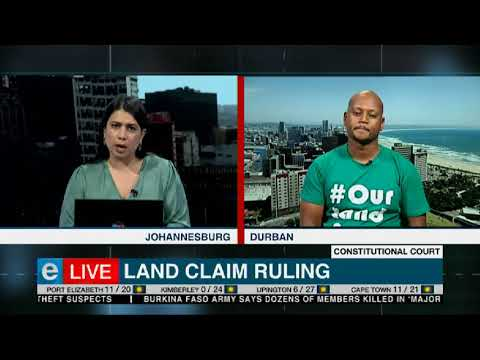 Reaction | ConCourt land claim ruling
