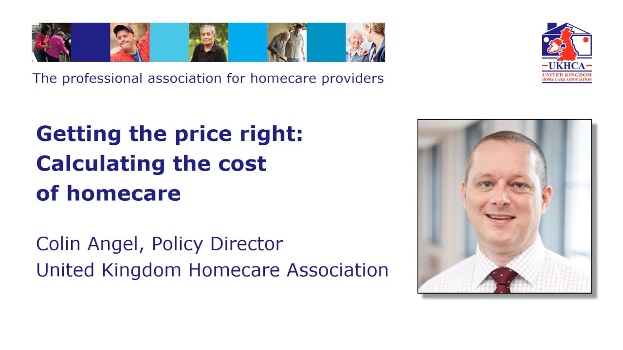 Getting the price right: Calculating the cost of homecare (2019)