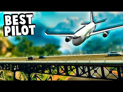 Man who hates Bridges becomes a Pilot and Flies an Airliner in Just Cause 4!