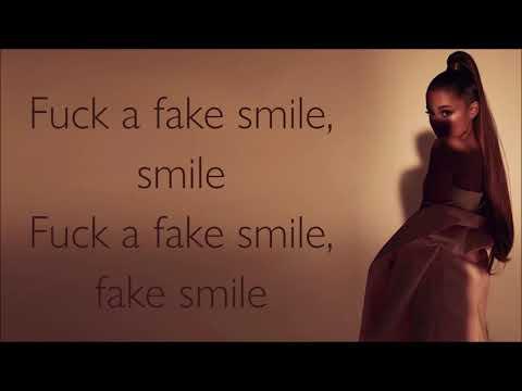 Ariana Grande ~ fake smile ~