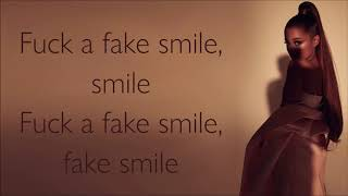 Ariana Grande ~ fake smile ~ Lyrics