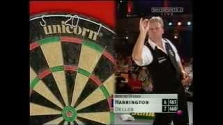 Rod Harrington v Keith Deller - The Grudge Match- 2002 World Matchplay Darts Part 5/6