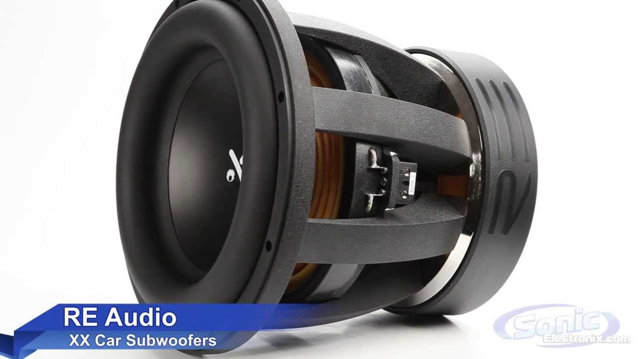 re audio xxx subwoofer