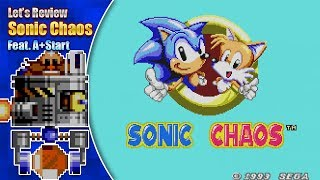 Let's Review Sonic Chaos feat. A+Start (Interview on Sonic Chaos Remake)