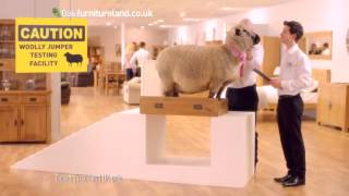 Oak Furniture Land May Day Bank Holiday Sale | Woolly