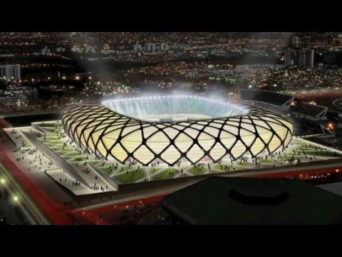 World Cup stadium in Amazon Rainforest
