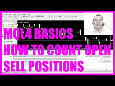 Mql4 Tutorial Basics 29 How To Count The Open Sell Positions