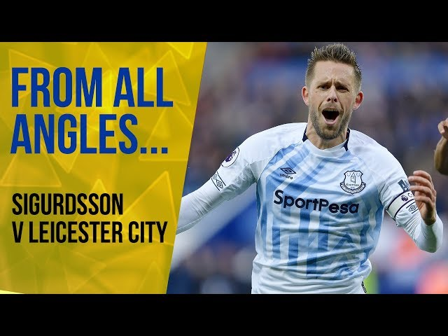 FROM ALL ANGLES: GYLFI SIGURDSSON... WHAT A HIT!