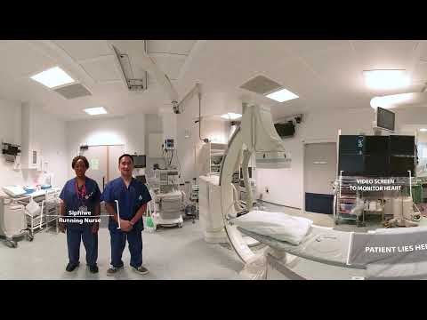 What To Expect In A Cath Lab 360 Degree Video British
