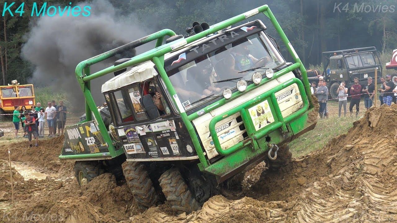6X6 Truck in Truck Trial