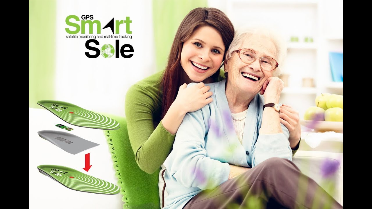 The Gps Smartsole A Gps Tracker For Elderly Youtube