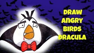 How To Draw Angry Birds Dracula
