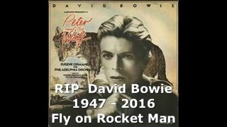 David Bowie RIP (1947 - 2016) David Bowie Narrates Disney