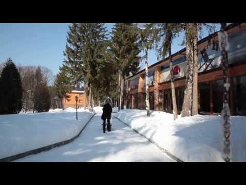 Солнечный спа отель в Подмосковье   Зима