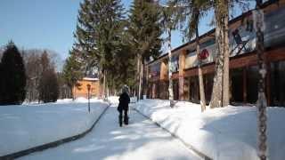 видео активный зимний отдых в подмосковье