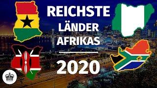 Die 10 REICHSTEN Länder Afrİkas 2020