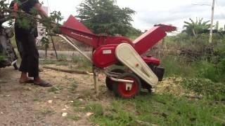 การทำงานของเครื่องย่อยกิ่งไม้