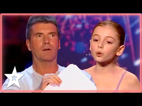 Her Singing STOPPED Simon Cowell From Pressing The RED Buzzer! | Kids Got Talent