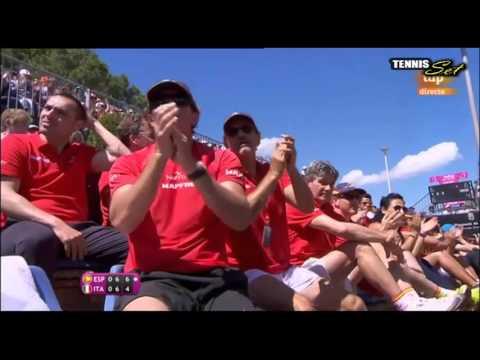 Garbine Muguruza vs Francesca Schiavone Highlights HD Fed Cup 2016