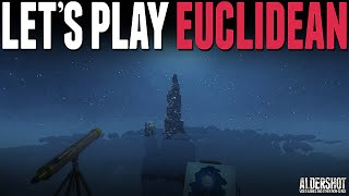 Euclidean: Let's Play (First person horror, indie game, gameplay)