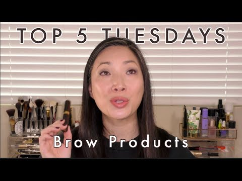 top-5-tuesdays---brow-products