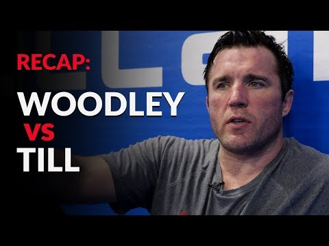 Tyron Woodley's dominant performance vs Darren Till at UFC 228 should not of been a surprise…