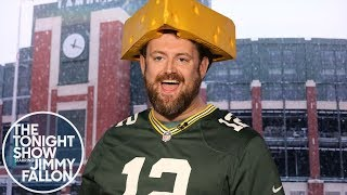 Jimmy Interviews the Guy Who Wouldn't Stop Wooing at Seahawks-Packers Game