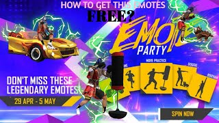 HOW TO GET NEW EMOTE😱||🎉FREE?🎉||NEW EMOTE PARTY EVENT❤️❤️❤️