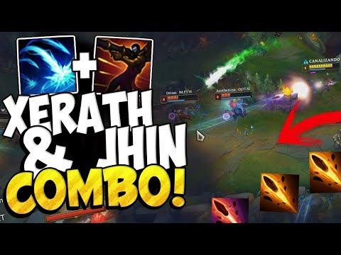 ⭐ JHIN X XERATH COMBO ⭐ ¡HAZ QUE BAILEN! League Of Legends thumbnail