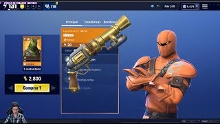 New TOP STEAM + Ninja HIBRIDO Fortnite Pistol Save the World
