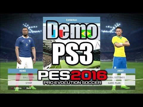 PES 2016 Gameplay Demo France vs Brazil 2-3 PS3 HD