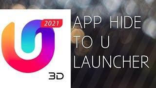 HIDE APP TO U Launcher screenshot 4
