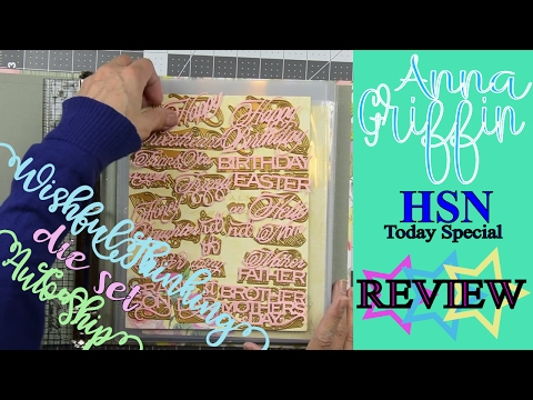 Review of Anna Griffin: Wishful Thinking Dies - HSN Today Special