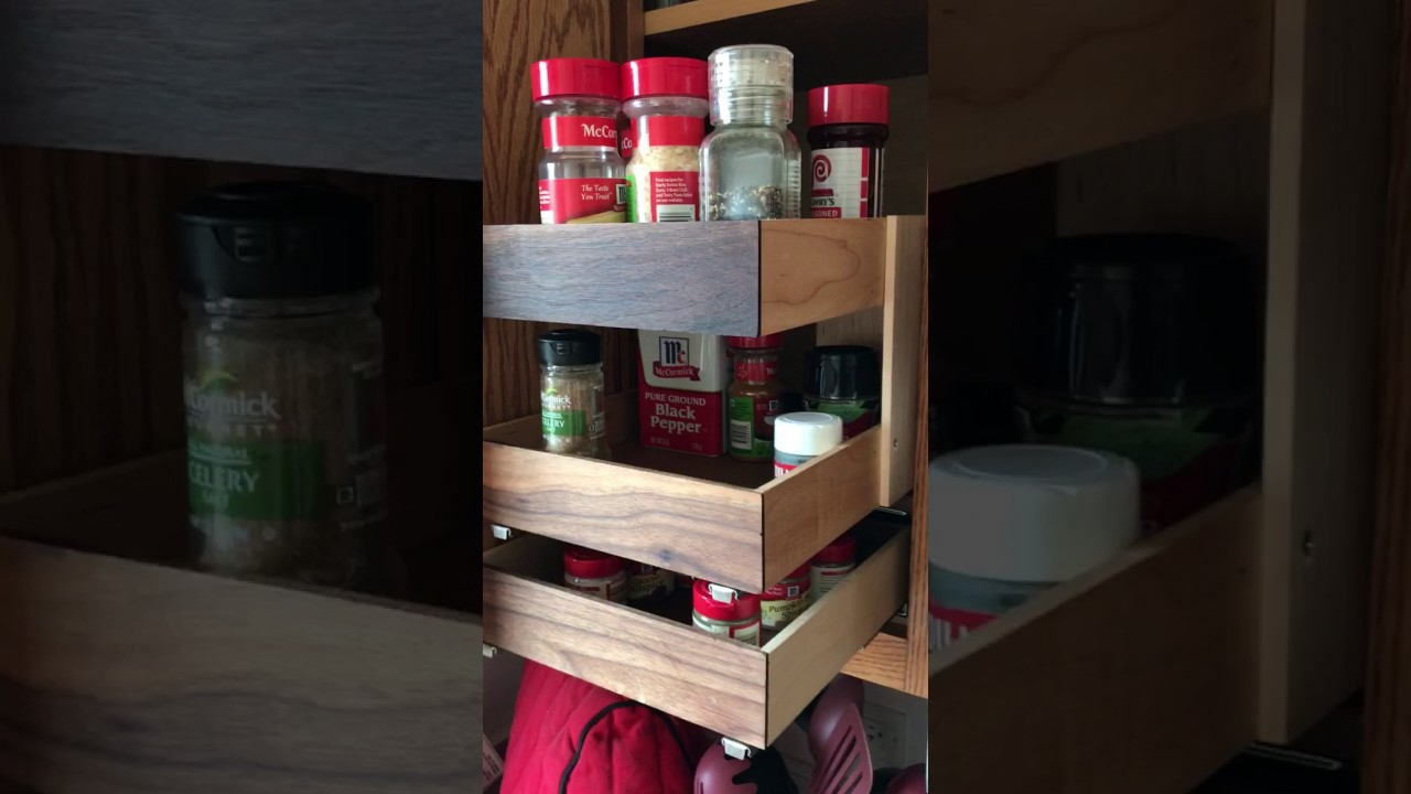 Blind Corner Cabinet Solution With Pull Out Basket