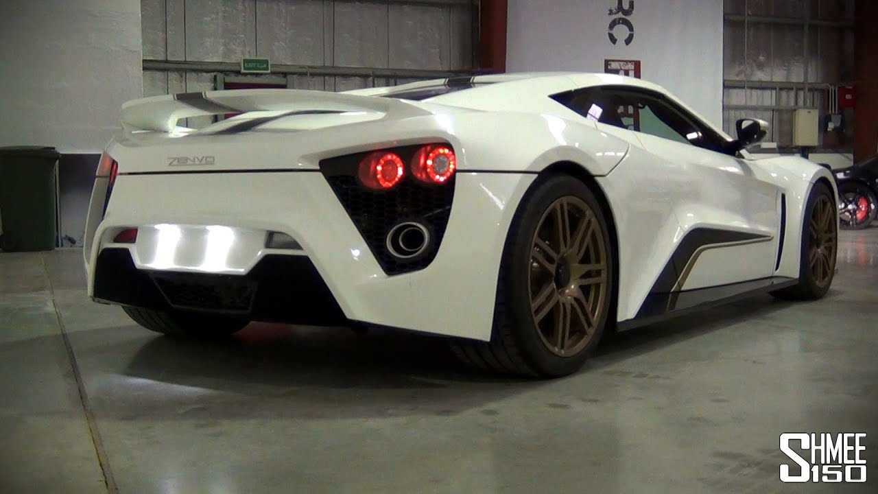 Zenvo St1 Startup And Revs Supercharged Turbocharged V8
