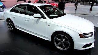 2014 audi a4 2 0t quattro s line exterior and interior walkaround 2014 detroit auto show