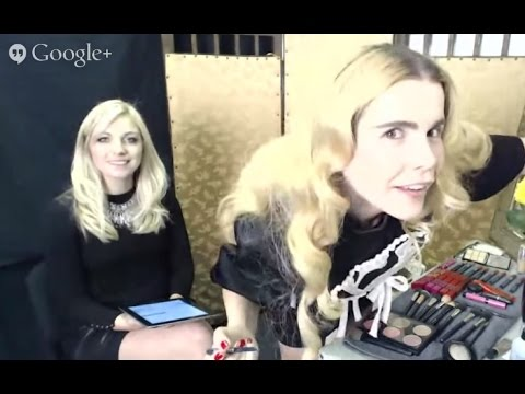 Paloma Faith's Beauty Vlogger Google+ Hangout