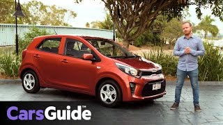 Kia Picanto 2017 Review: First Drive Video