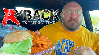 Greens & Protein Impossible Burger & Sweet Potato Fries Food Review - Ryback Its Feeding Time