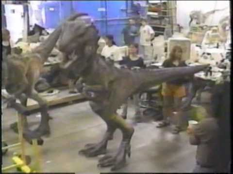 Godzilla - Behind the Scenes - FX & Baby Godzilla Costumes etc.