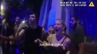 Atlanta Police vs ICE Protestors on July 4th