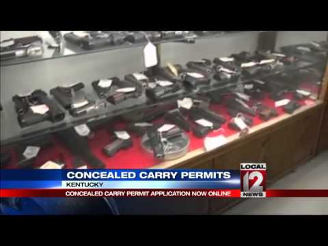 KY concealed carry permit application now online