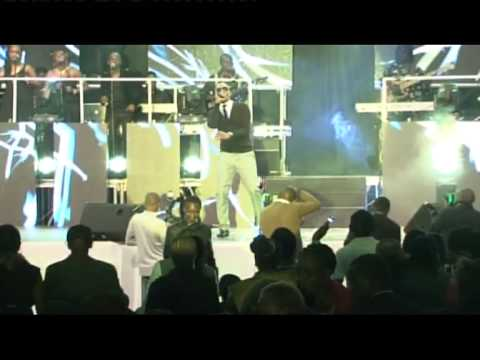 Daddy Owen performs in the Niko Na Safaricom Live launch