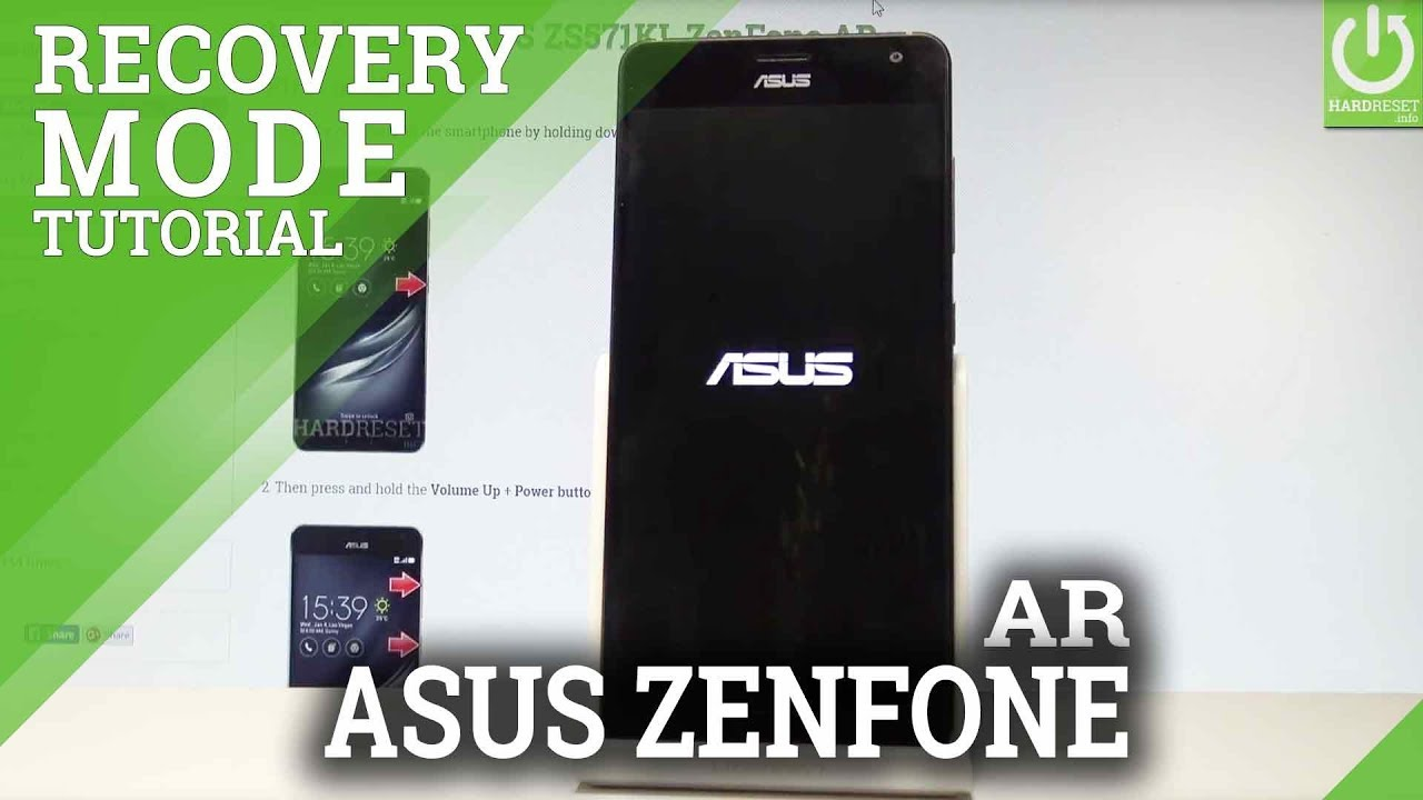How to Enter Recovery Mode in ASUS ZenFone AR |HardReset info
