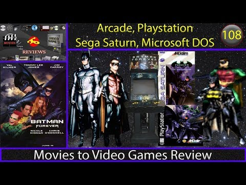 Movies to Video Games Review - Batman Forever: The Arcade Game (Arcade, PS1, Saturn, DOS)