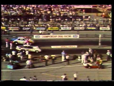 Drag Racing 1976 NHRA World Finals PRO STOCK  Semi Finals