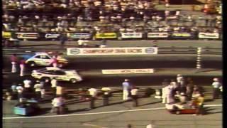 Drag Racing 1976 NHRA World Finals PRO STOCK  Semi Finals